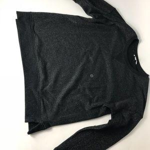 Sparkly Black Crewneck Sweatshirt